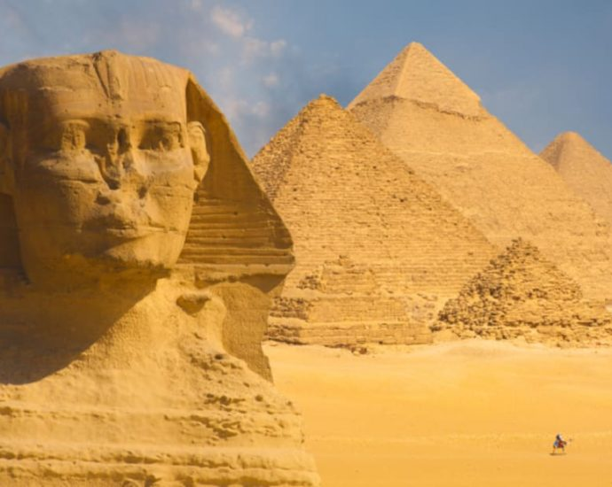 Visiting Giza with Children