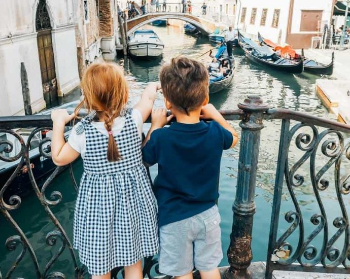 Visiting Venice with children